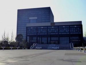 Das Nanxun Grand Theatre: Unser erster Konzertort in China