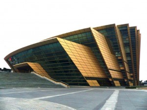 Grand Theatre of Wengzhou: unsere Konzerthalle.