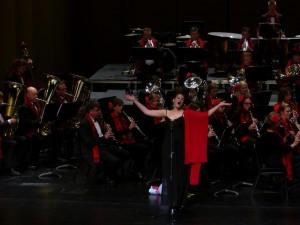 Unsere Sängerin Sabine Ludwig.
