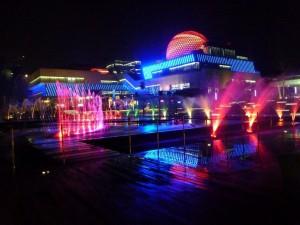 Das Wissenschaftsmuseum im Ningbo Square: Ein ganz neues Museum das zum 1.1.14 Eröffung feierte