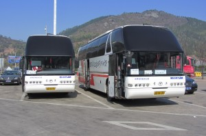 China per Bus in 13 Tagen
